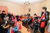 Bağcılarlı Engelliler Şehitler Tepesi'ni Ziyaret Etti