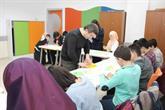 Dünya 2'incisi Yurtkul Enderunlu Öğrencilere Origami'yi Öğretti