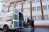 Bağcılarlı Engelli Ve Yaşlı Seçmenler Asansörlü Araçlarla Oy Kullandı