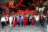 """Bağcılar'da Muhteşem """"15 Temmuz Kahramanları"""" Gösterisi"""
