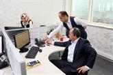 Başkan Çağırıcı Çağrı Merkezi'nde Telefonları Cevapladı