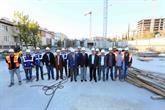 Bağcılar'da Yeni Belediye Binası İnşaatı Yükseliyor