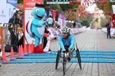 Engelli Atletler Maratona Damga Vurdu