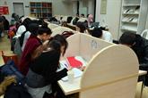 """Kütüphanede """"Ders Arası Çorba Molası"""""""