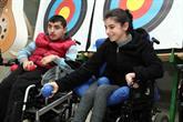 Spastik Engelli Kızı İçin 55 Yaşında Boccia Öğrendi