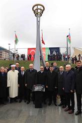 """Bağcılar'da """"Azerbaycan Dostluk Parkı ve Hocalı Katliamı Anıtı"""" Dualarla Açıldı"""
