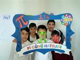 Enderunlu Çocuklar Pi'nin Doğum Gününü Kutladı