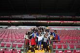 Engelliler Galatasaray Türk Telekom Stadı'nda VIP Misafir Oldu