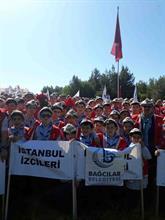 Bağcılarlı İzciler Çanakkale Şehitlerini Ziyaret Etti