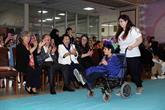 Üniversite Öğrencilerinin Tasarladığı Ürünlere Engelliler Mankenlik Yaptı