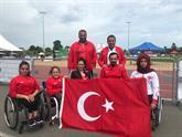 Engelli sporcular İsviçre'den birincilikle döndüler