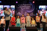 Ramazan programında çocuklar gönüllerince eğlendi