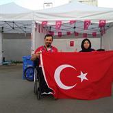 Milli Atlet Zübeyde Süpürgeci Akdeniz Oyunları'nda Altın Madalya Kazandı