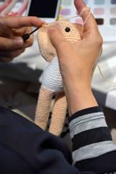 Bağcılarlı Kadınlar Lösemili Çocuklar İçin Bez Bebek Ördü