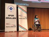 Boğaziçi Üniversitesi'nden Zübeyde Süpürgeci'ye Sportsmanship Brotherhood Ödülü