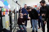Engelliler Sarayı'nda Mehmetçik Kutlu Zafer Rüzgarı Esti