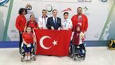 Engelli Atletler Dubai'deki Şampiyonanın İlk Gününde 2 Madalya Kazandı