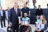 Bağcılarlı Engelli Sporcular Göbeklitepe Koşusu'nda Birinci Oldu