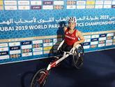 """""""Altın Kız"""" Hamide, Dubai'de Dünya Üçüncüsü Oldu"""