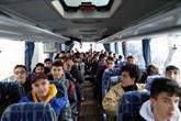 Gençler Kefken Kış Kampı'na Uğurlandı
