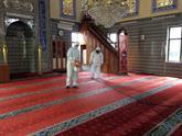 Bağcılar'da Camiler Cuma Namazına Hazır