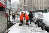 Bağcılar Belediyesi'nin Kar Mesaisi