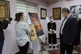 Bağcılar'da Hayat Boyu Öğrenme Sergisi Açıldı