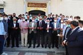 İmam Ali Camii İbadete Açıldı