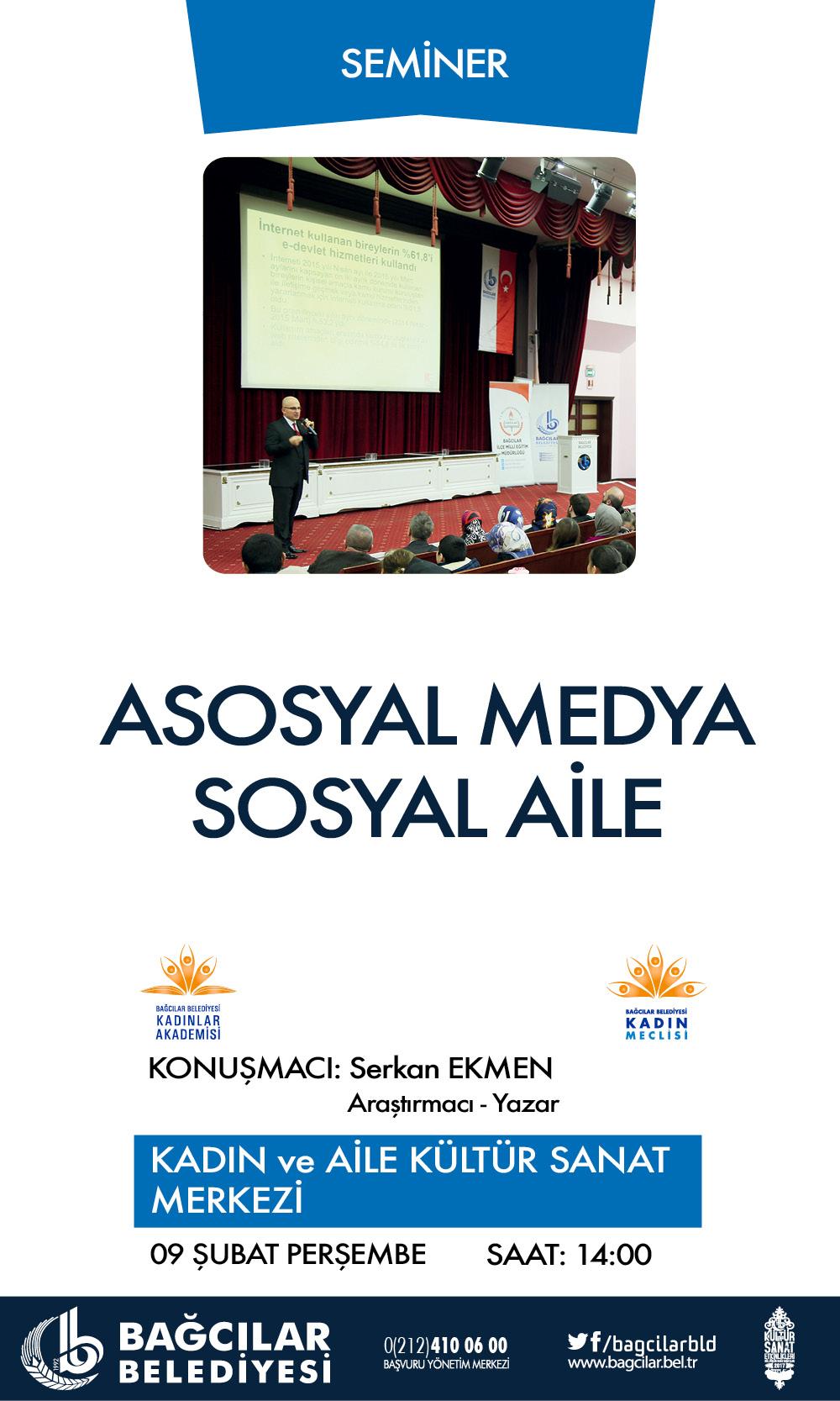 ASOSYAL MEDYA SOSYAL AİLE