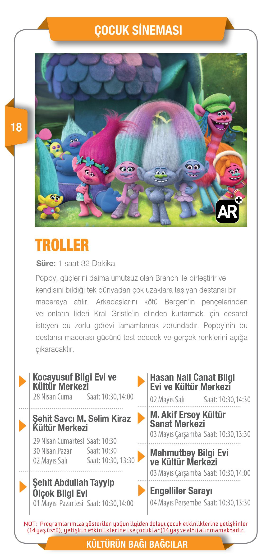 Troller - Çocuk Sineması