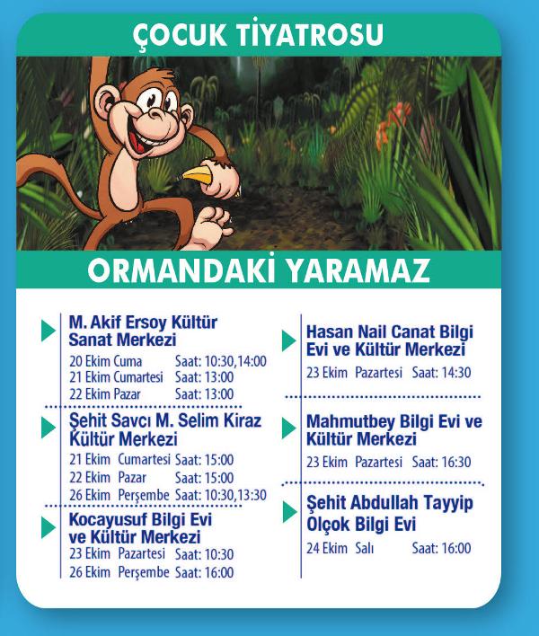 Ormandaki Yaramaz - Çocuk Tiyatrosu