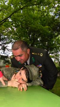 Engelli gençlerin askerlik heyecanı...