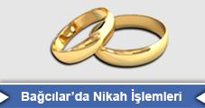 Bağcılar'da Nikah İşlemleri